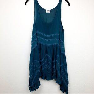 Intimately free people turquoise sleeveless tank
